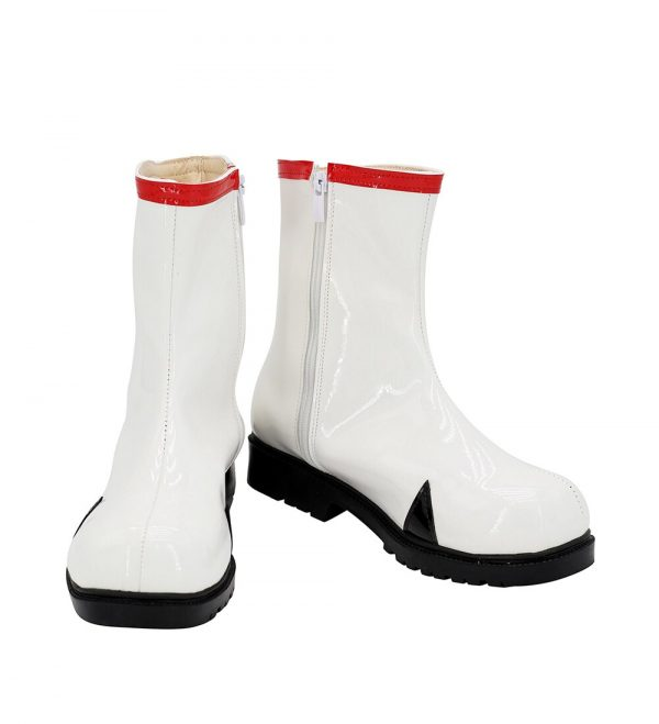 EVA Rei Ayanami Cosplay Boots White Leather Shoes Custom Made Any Size 1 - Evangelion Merch