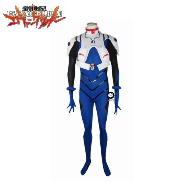 Ikari Shinji EVA 01 Test Type Meisters Battle Suit Cosplay Costume Custom Halloween Christmas Uniform Custom 3 - Evangelion Merch