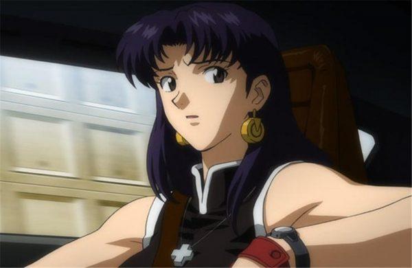 JP Anime Shin Seiki EVA Katsuragi Misato Cosplay Cross Pendant Metal Alloy Necklace 4 - Evangelion Merch