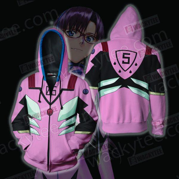 Mari hoodie jackets 2 - Evangelion Merch