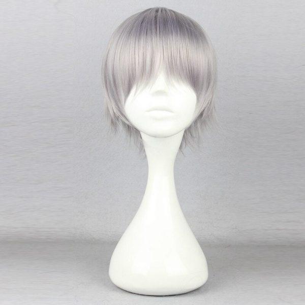 Nagisa Kaworu Hair Neon Genesis Evangelion Hair Nagisa Kaworu Cosplay Hair Gray Mens Neon Genesis Evangelion 1 - Evangelion Merch