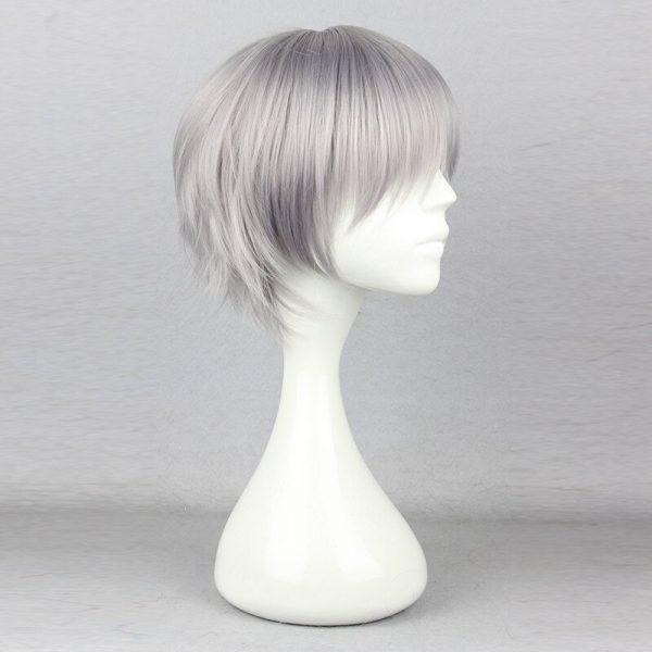 Nagisa Kaworu Hair Neon Genesis Evangelion Hair Nagisa Kaworu Cosplay Hair Gray Mens Neon Genesis Evangelion 2 - Evangelion Merch