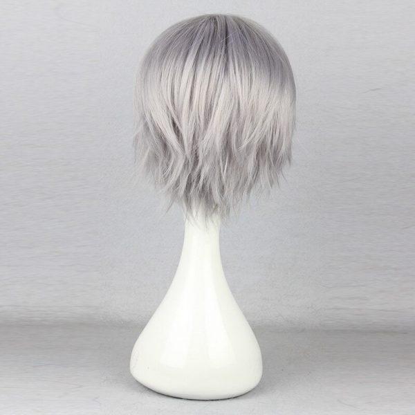 Nagisa Kaworu Hair Neon Genesis Evangelion Hair Nagisa Kaworu Cosplay Hair Gray Mens Neon Genesis Evangelion 3 - Evangelion Merch