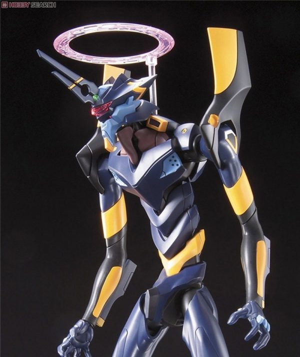 Original BANDAI Gundam Mark 06 EVA 06 Ver Anime Evangelion Assembled Robot Model Kids Action Figure 3 - Evangelion Merch