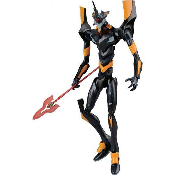 Original BANDAI Gundam Mark 06 EVA 06 Ver Anime Evangelion Assembled Robot Model Kids Action Figure 4 - Evangelion Merch
