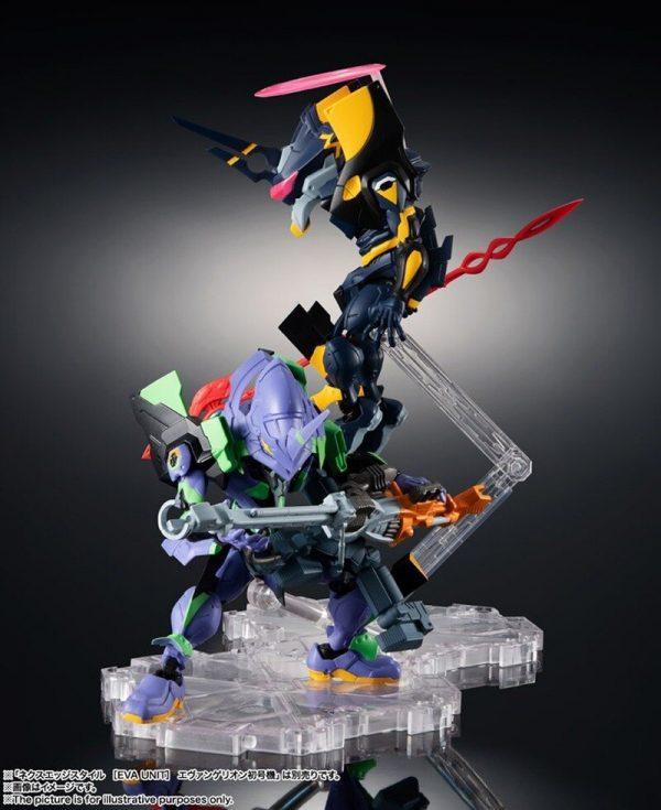 Original BANDAI Gundam NX 0048 Mark 06 EVA Ver SET Anime Evangelion Assembled Robot Model Kids 4 - Evangelion Merch