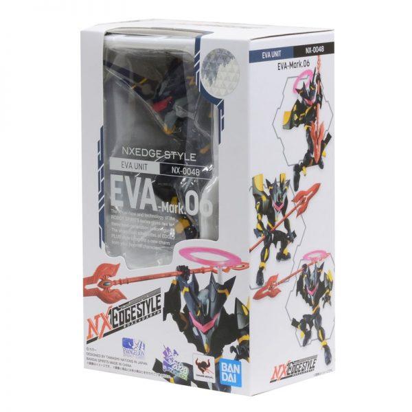 Original BANDAI Gundam NX 0048 Mark 06 EVA Ver SET Anime Evangelion Assembled Robot Model Kids 5 - Evangelion Merch