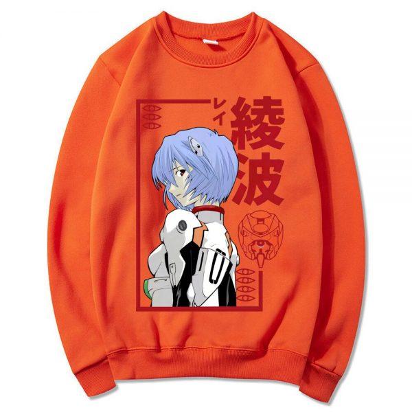 Rei Ayanami Japanese Anime Casual Crewneck Sweatshirts Men s Manga Hipster Sweatshirt Unisex Oversized Sweatshirt Homme 3 - Evangelion Merch