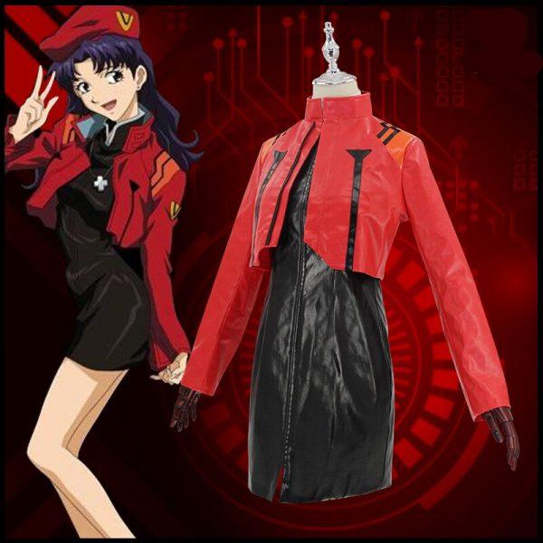 The Anime EVA cos Katsuragi Misato cosplay costume Theater version 2021 1 - Evangelion Merch