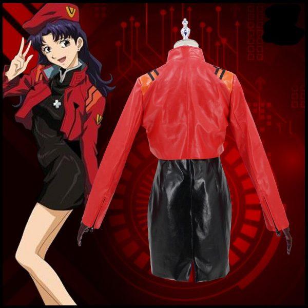 The Anime EVA cos Katsuragi Misato cosplay costume Theater version 2021 3 - Evangelion Merch