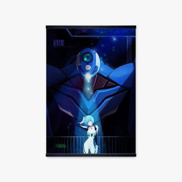 Japan Evangelion Unit 00 Pilot Ayanami Rei Anime Poster And Print Canvas Picture Art Manga Illustration - Evangelion Merch