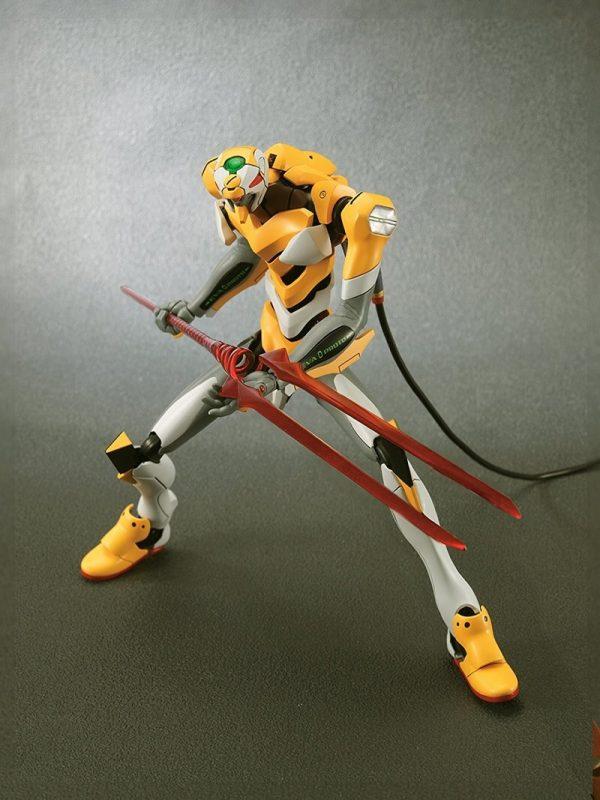 Original BANDAI 1 144 Gundam EVA 00 002 Ver SET Anime Evangelion Assembled Robot Model Kids 3 - Evangelion Merch