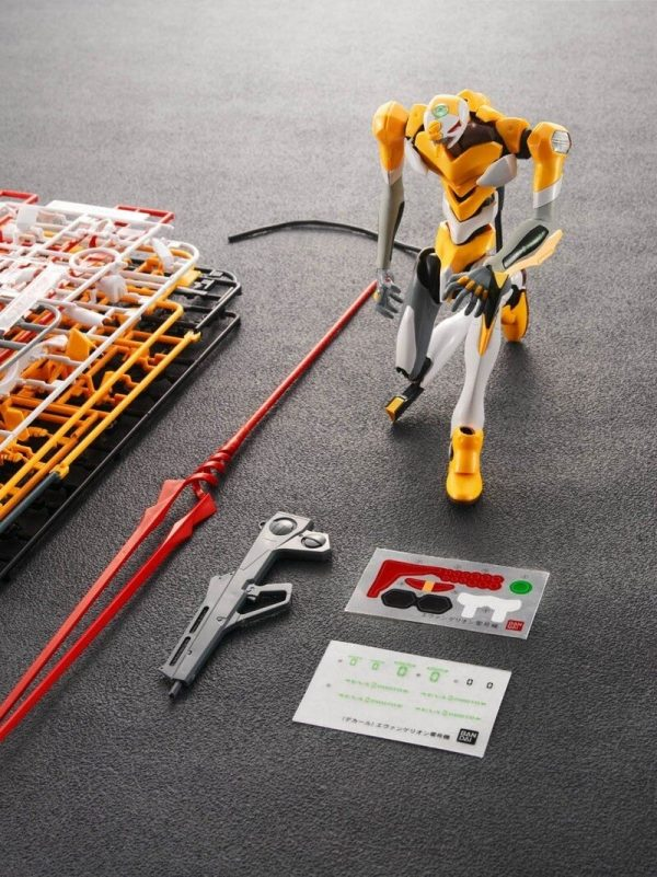 Original BANDAI 1 144 Gundam EVA 00 002 Ver SET Anime Evangelion Assembled Robot Model Kids 4 - Evangelion Merch