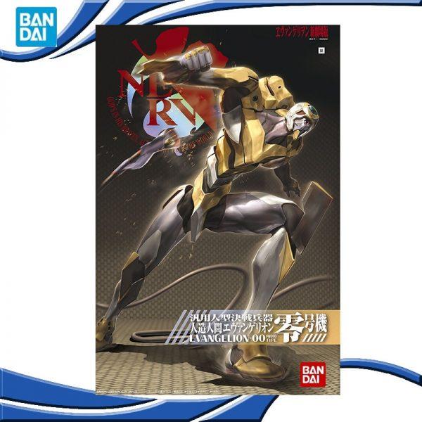 Original BANDAI 1 144 Gundam EVA 00 002 Ver SET Anime Evangelion Assembled Robot Model Kids - Evangelion Merch