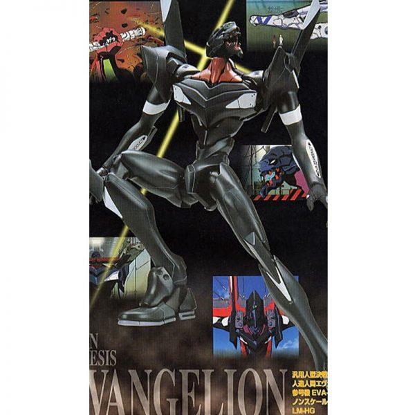 Original BANDAI Gundam EVA 03 HG 005 Ver SET Anime Evangelion Assembled Robot Model Kids Action 1 - Evangelion Merch