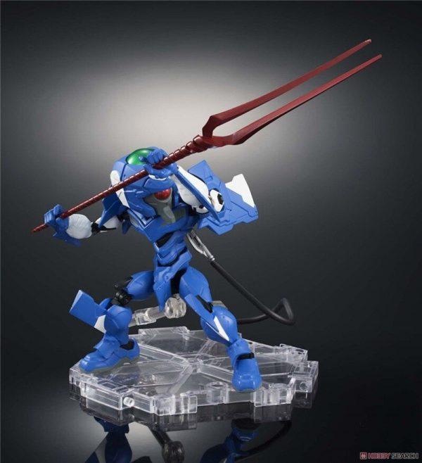 Original BANDAI NX NXEDGE STYLE EVA 00 Ver Anime Evangelion SHF Movable Joint Robot Model Kids 2 - Evangelion Merch