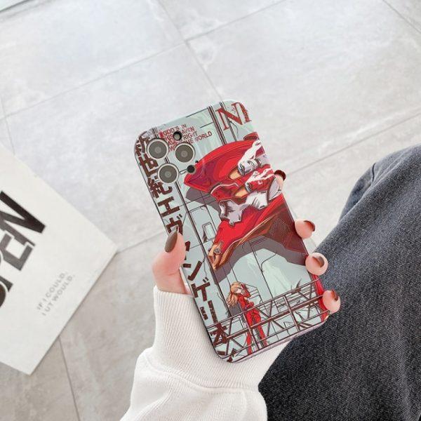 Luxury Japan Evangelion Phone Case for Iphone 12 11 Pro X S Max XR 6 7 2.jpg 640x640 2 - Evangelion Merch